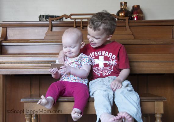 hug at the piano