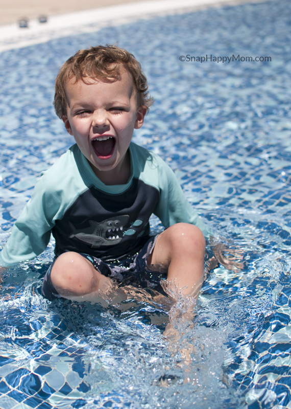how to take better swimming lesson photos