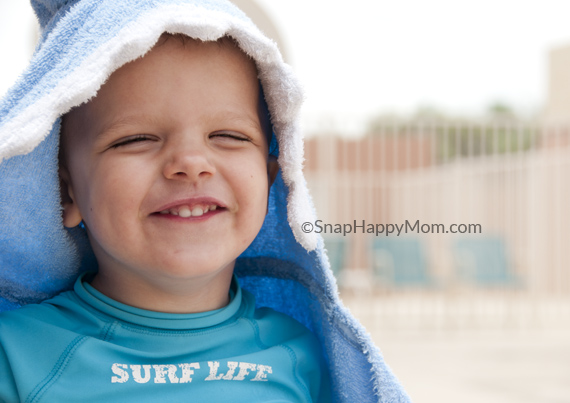 swim lessons towel