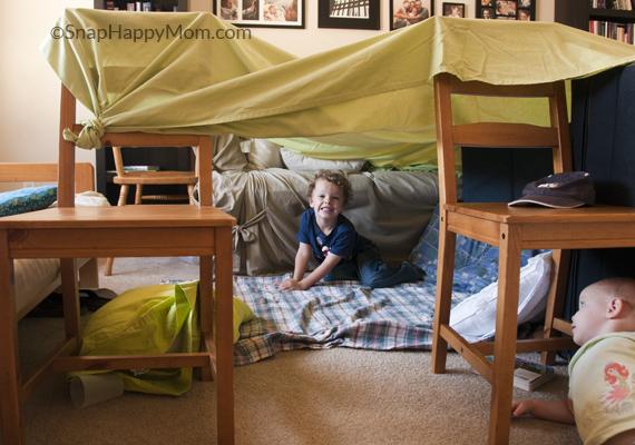 how to make fort blanket adult