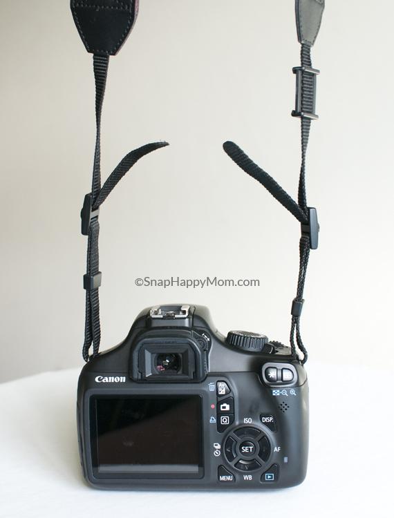 incorrect DSLR strap