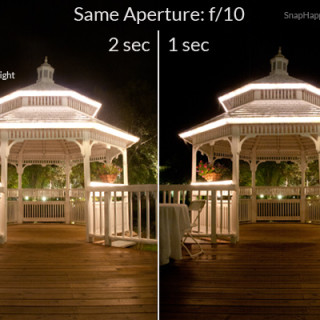 How To Take Pictures of Scenery at Night from SnapHappyMom.com