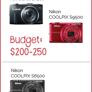 Holiday Camera Buying Guide - www.SnapHappyMom.com