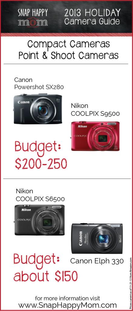 Holiday Camera Buying Guide - www.SnapHappyMom.com