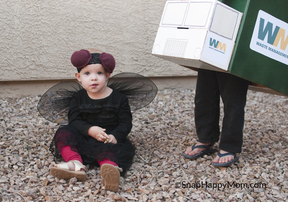 Garbage Truck and Fly Costumes