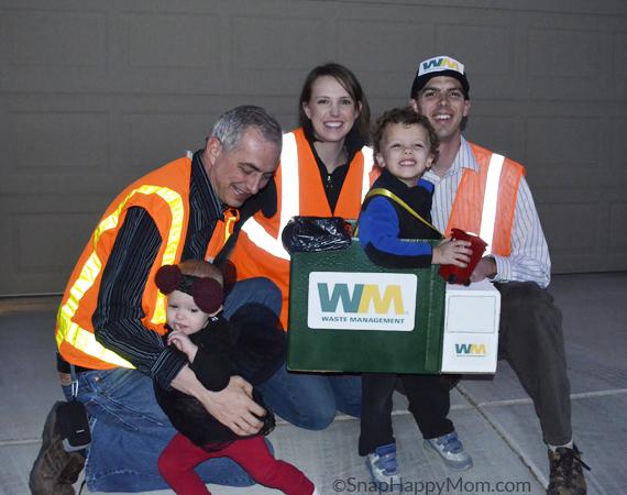 Waste Management Halloween Costume