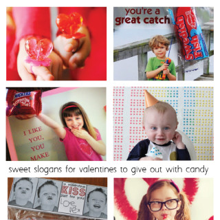 10 Candy Inspired Slogans for Photo Valentines