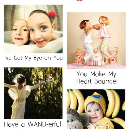 10 Captions for Unique Photo Valentines - SnapHappyMom.com