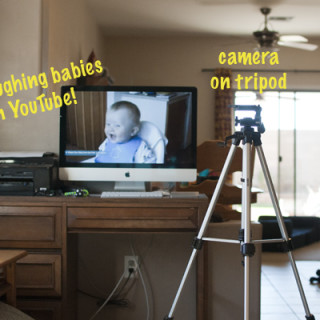 Quick Tripod Tip for Family Photos - www.SnapHappyMom.com