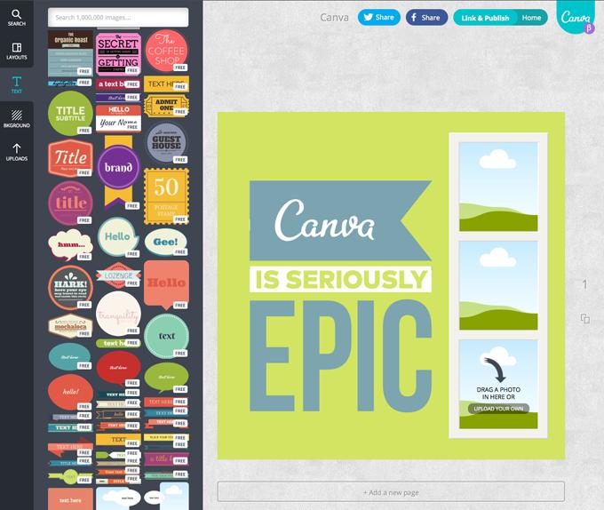 Canva: online reklámgrafikákat készíthetünk vele