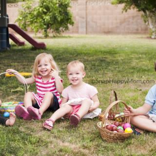 Wordless Wednesday - Easter Egg Hunts