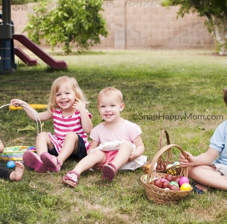 Wordless Wednesday - Easter Egg Hunts