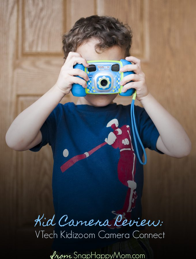 Kid Camera Review: VTech Kidizoom Camera Connect by SnapHappyMom.com