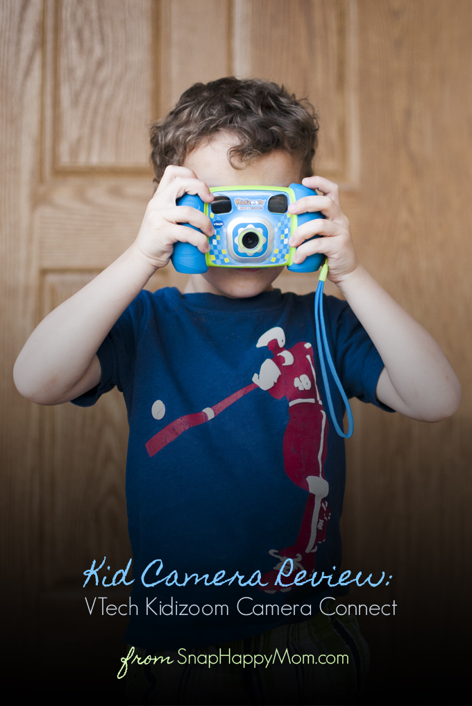Child's Camera Review: VTech Kidizoom Camera Connect from SnapHappyMom.com