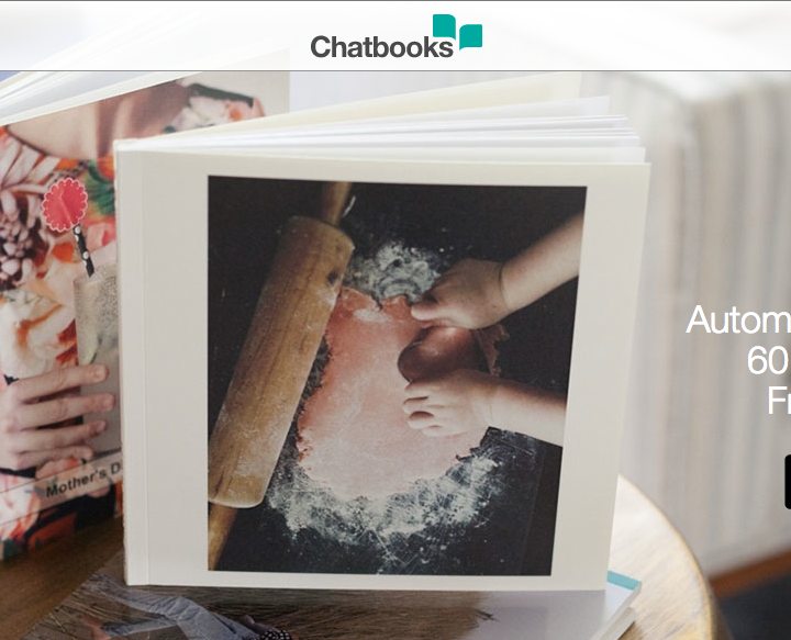 """Chatbooks App- 60 page photo books for $6 shipped. Use """"HAPPY1"""" for your first book free!"""