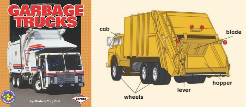 Garbage Truck Book Review - SnapHappyMom.com