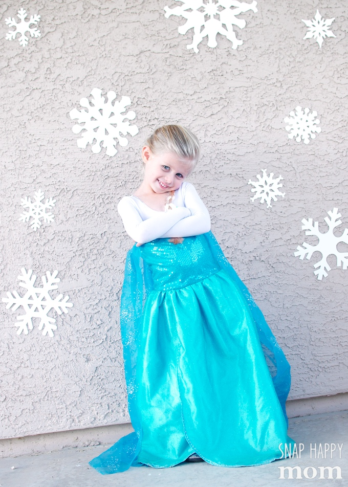 Quick And Easy Frozen Photo Shoot - Ten Minute Elsa Pictures! - Snap ...