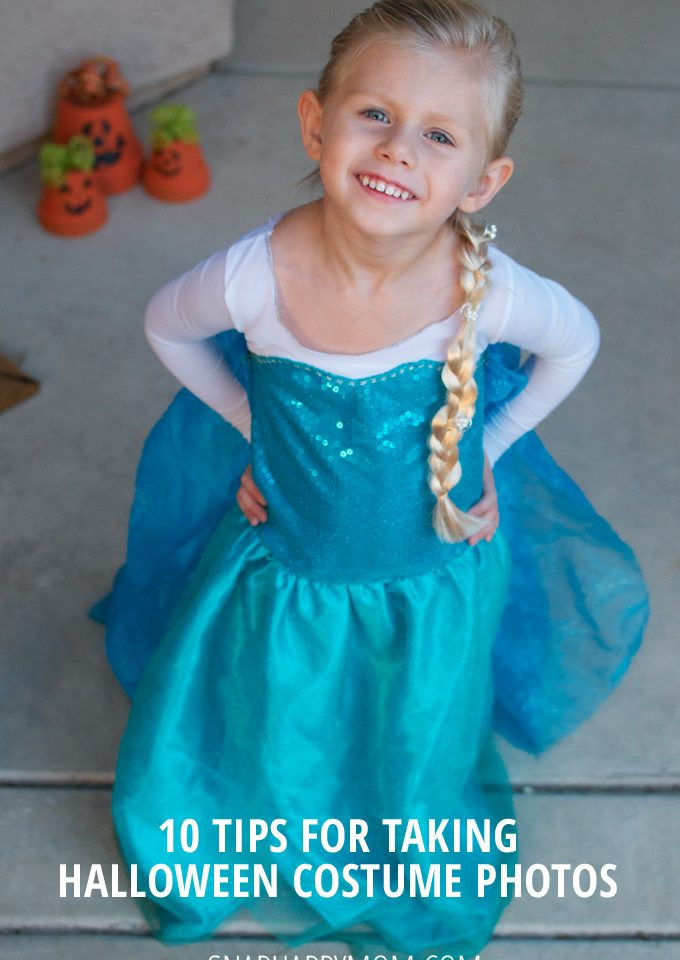 10 Tips For Taking Halloween Costume Photos - SnapHappyMom.com