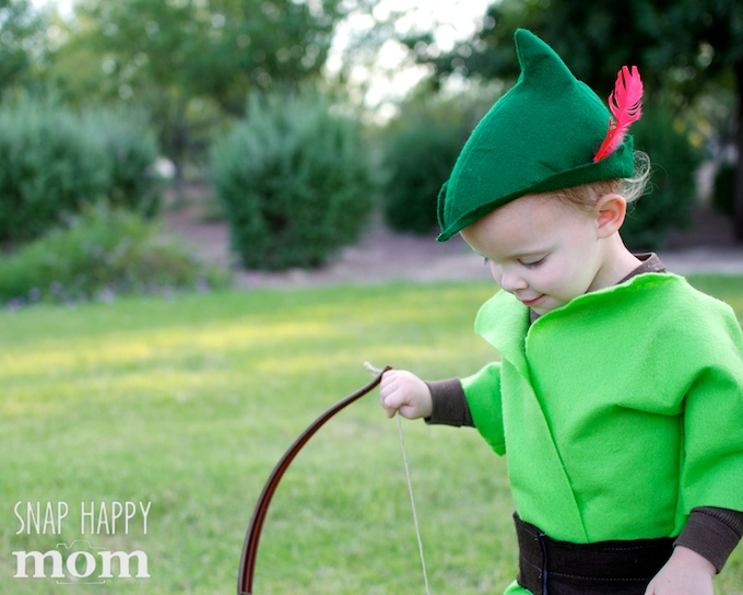 Robin Hood Family Costumes - cute Little John toddler costume - SnapHappyMom.com