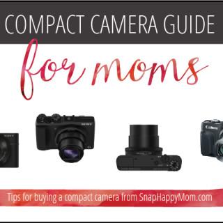 Compact Camera Guide For Moms - SnapHappyMom.com
