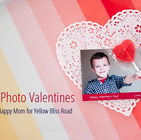 3D Photo Valentines - SnapHappyMom.com