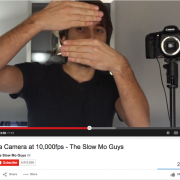 Understanding Shutter Speed Inside a Camera - With the Slow Mo Guys - SnapHappyMom.com