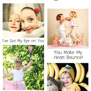 10 Captions for Unique Photo Valentines - SnapHappyMom.com