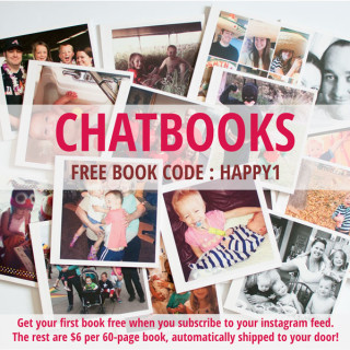 Chatbooks Code - HAPPY1 to get your first books free