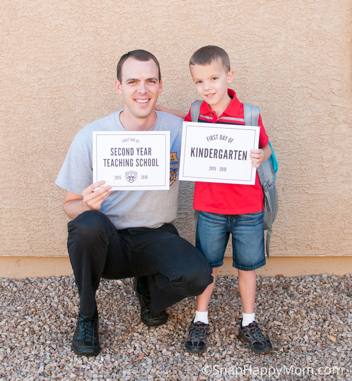 Tips For First Days Of School Pictures - SnapHappyMom.com