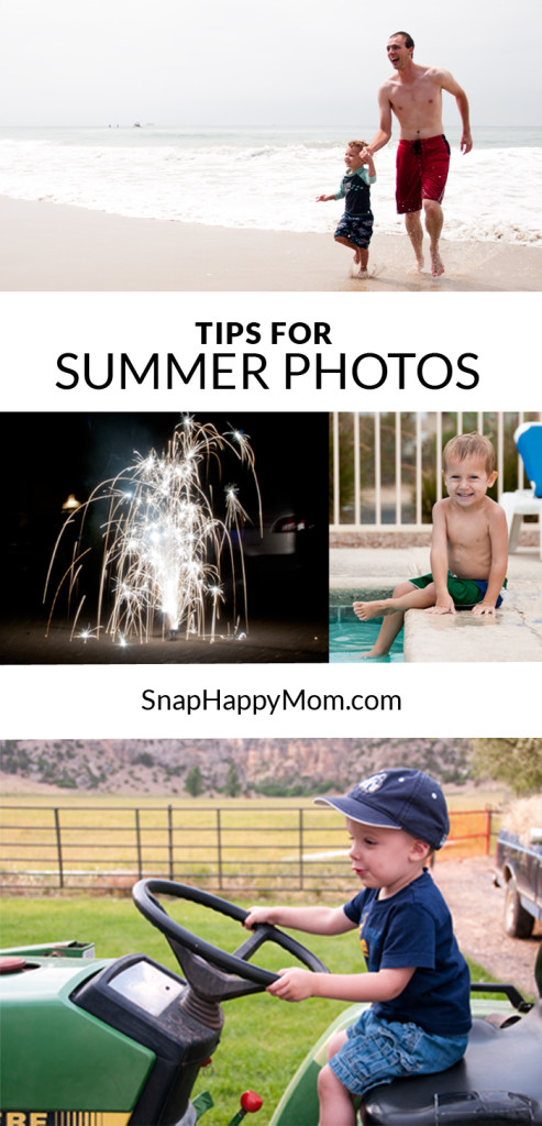 Tips For Summer Photos - SnapHappyMom.com
