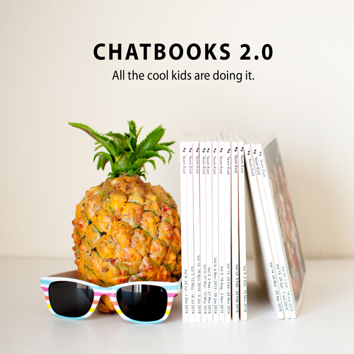 Chatbooks 2.0 New Features