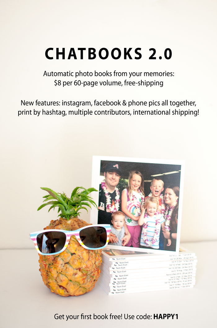 Chatbooks 2.0 - New features and Free Book Code - SnapHappyMom.com