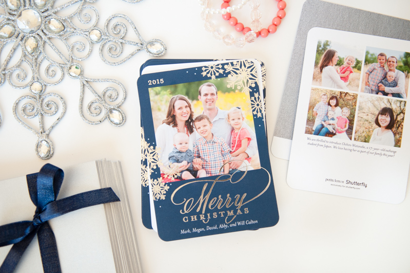 Holiday Cards with Shutterfly - SnapHappyMom.com