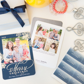 "3 Tips To ""Winterize"" Any Family Photo – Holiday Cards with Shutterfly"