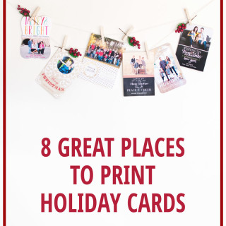 8 Great Places To Print Your Holiday Cards