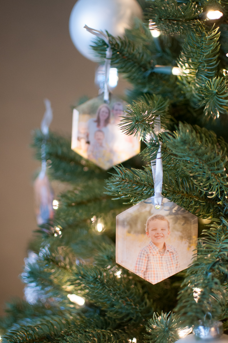 Glass Ornaments From Shutterfly