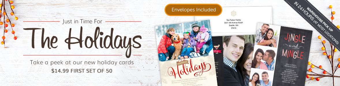 great places to print your holiday cards snaphappymomcom - Costco Holiday Cards