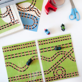 How To Laminate and Assemble Play Mats