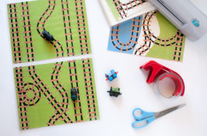 How To Laminate and Assemble a Play Mat - SnapHappyMom.com