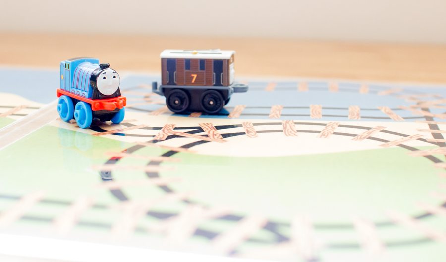 Mini Train Play Mat Printable - SnapHappyMom.com