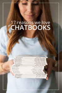 These cute little photo books are easy to create, cost-effective, and beautiful to display in your home. Read on for why we love Chatbooks! Use code HAPPY1 to save!