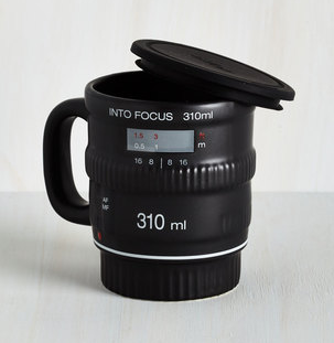 Pour and Shoot Mug - Photography Gift
