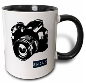 Smile Two Toned Mug - Photographer Gift