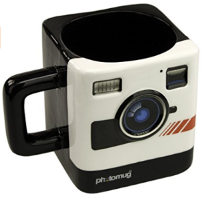 Retro Camera Mug - Photography Gift