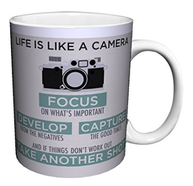 Like is Like a Camera Mug - Photographer Gift