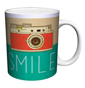 Smile Retro Mug - Photographer Gift