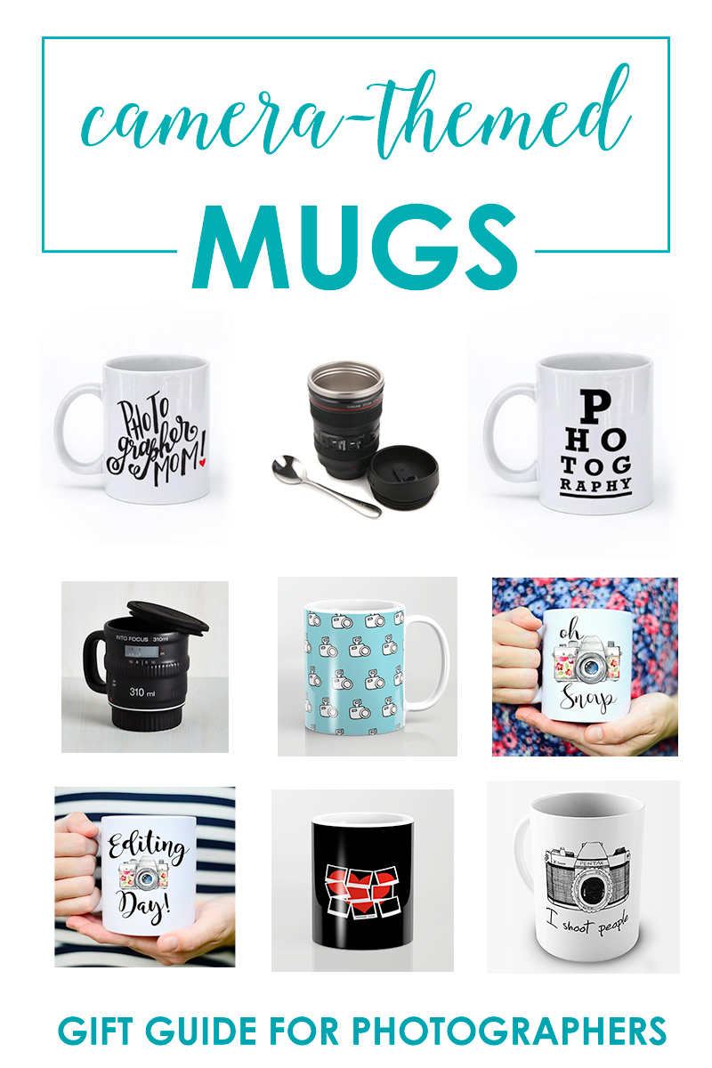 Camera-Themed Mugs - Gift Guide For Photographers