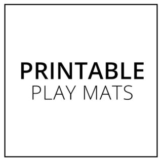Printable Play Mats – The Best Toy for Quiet Time!