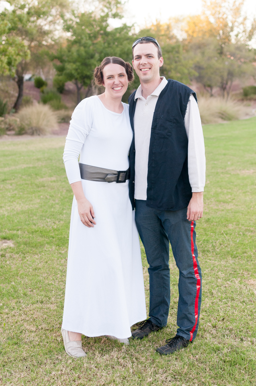 Star Wars Costume - Han & Leia