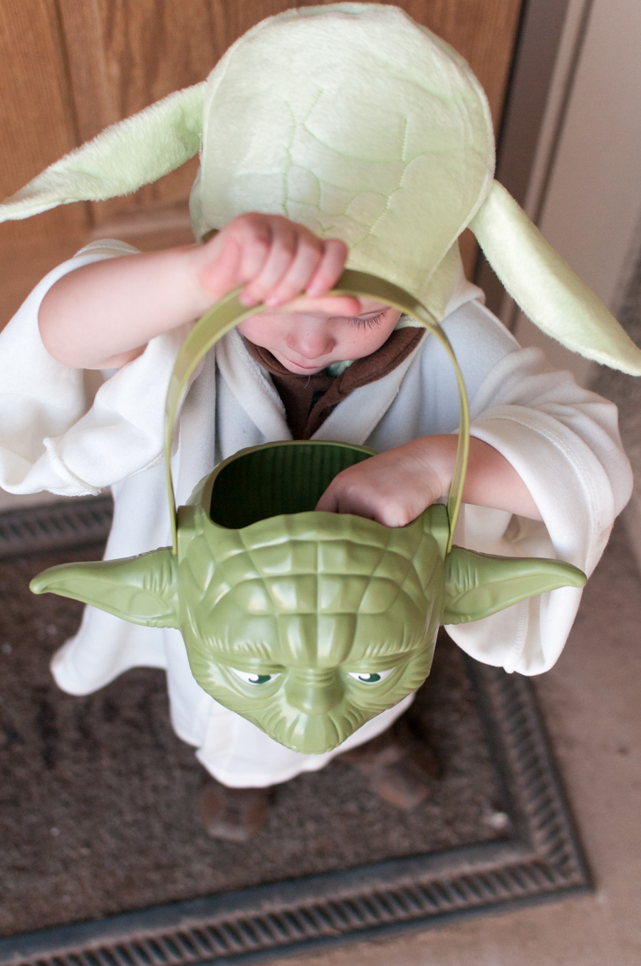 Yoda-themed Halloween